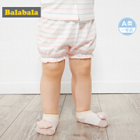 【满减参考价:39.67】巴拉巴拉婴儿短裤宝宝打底裤新生儿裤子夏装新款纯棉时尚女童