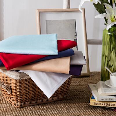 当当优品家纺 60支贡缎长绒棉纯色床单 240x270