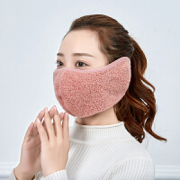 口罩男女冬季口罩耳罩一体女冬天保暖户外骑车防风防寒加厚