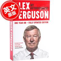 现货 包邮 Alex Ferguson弗格森自传 英文原版 英超曼联教头 平装传记