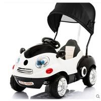 儿童电动车四轮遥控汽车卡通车摇摇车手推车小孩宝宝玩具车可坐人
