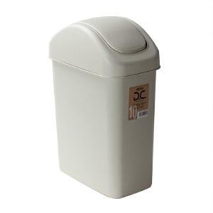 [当当自营]Lustroware 原装进口摇盖垃圾桶6.5L/ L-2000/MW