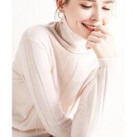 新年特惠秋冬新款显瘦衫女高领短款针织衫修身百搭打底毛衣韩版