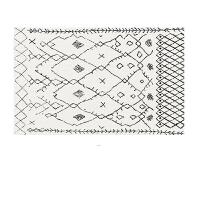 北欧客厅地毯现代简约沙发茶几垫摩洛哥几何ins风美式卧室床边毯k