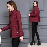 女装冬季新款羽绒棉袄韩版大码收腰显瘦中年气质短款女棉衣外套女保暖宽松女