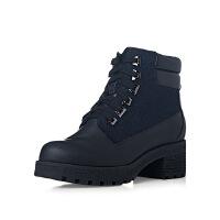 爱旅儿女鞋帅气军靴中性系带随意短靴EA67201