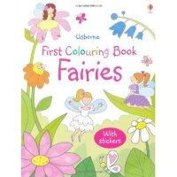 [现货]英文原版 Fairies 小精灵 Usborne幼儿亲子涂色书系列