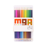 M&G晨光ZWPY670124色ARTS双头彩铅绘画用品(1盒)当当自营
