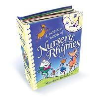 [现货]英文原版A Pop-Up Book of Nursery Rhymes儿童歌谣立体书