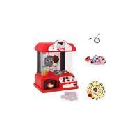 迷你抓娃娃机夹娃娃机小型儿童玩具家用夹公仔机投币 冬己FDE510娃娃机