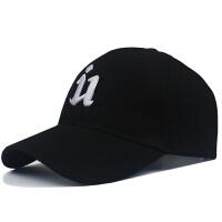 帽子女夏男士棒球帽鸭舌帽休闲百搭韩版潮人潮牌黑色青年遮阳帽