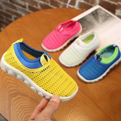 1-2-3-4-5-6-7-8岁春秋儿童运动鞋男童网面鞋宝宝透气凉鞋女童鞋 建议脚长加0.5cm选择内长,脚丫偏胖加1.0cm