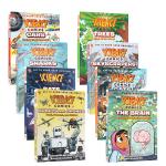 Science Comics科学漫画系列5册合售 英文原版Wild Weather: Storms狂野的天气暴风雨/T
