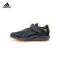 阿迪年新款童鞋运动跑步鞋训练鞋B22558 炭黑