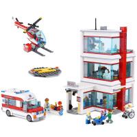 街景城市建筑情景系列自由女神像长城模型积木拼装拼插兼容乐高积木立体百变益智儿童男孩女孩玩具