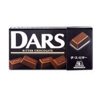 日本进口森永达诗DARS黑巧克力43.2g*2盒