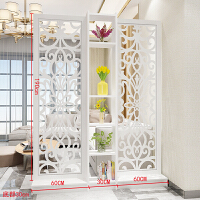 屏风隔断客厅装饰柜镂空雕花 屏风现代时尚隔断客厅玄关柜移动门厅