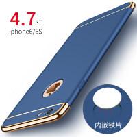 �O果6手�C��iphone6plus套六磨砂6s潮男7p磁吸i8后��6p新款ipone女款硬���性