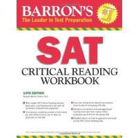 [现货]Barron's SAT Critical Reading Workbook, 14th Edition