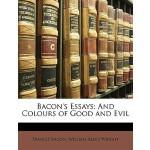 【预订】Bacon's Essays: And Colours of Good and Evil