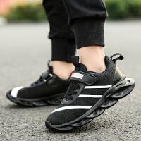 【1件2折折后�r:56元】富�F�B男童鞋子2021春款新款潮透�饩W面春秋男孩中大�和��\�有�