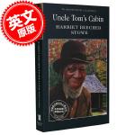 现货 Uncle Tom's Cabin 汤姆叔叔的小屋 英文原版书籍 经典小说