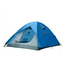 防风防水家庭旅游野营帐篷户外双人双层帐篷适用露营装备