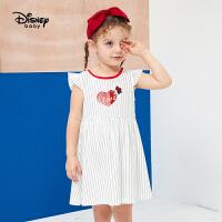 618【3件3折:53.7元】迪士尼婴幼儿童装20夏梦幻童年女童针织休闲背心连衣裙