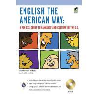 【现货】英文原版 English the American Way with Audio CD & MP3 趣味美式英语语言文化学习指导 含话题分类附光盘