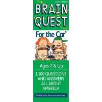 现货 英文原版 Brain Quest Car 益智挑战 关于汽车 7岁以上