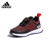 【大牌价:289元】阿迪达斯adidas童鞋新款儿童跑步鞋男童休闲鞋 RAPIDARUN UNCAGED BOA K运