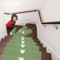 楼梯垫踏步垫免胶实木楼梯贴台阶贴自粘地垫门垫防滑家用地毯定制