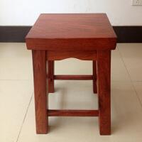 木四方凳 中式古典家具凳子 实木休闲凳