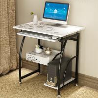 电脑桌 简约家用加宽键盘版台式电脑桌办公桌子学生单人卧室写字小书桌电脑台