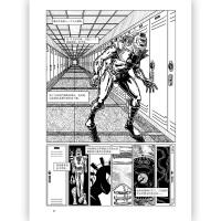 非平面 以漫画形式探究人类构建知识体系奥德赛之旅图像小说视觉元素 思维方式认知创新黑白艺术绘画哲学动漫书籍