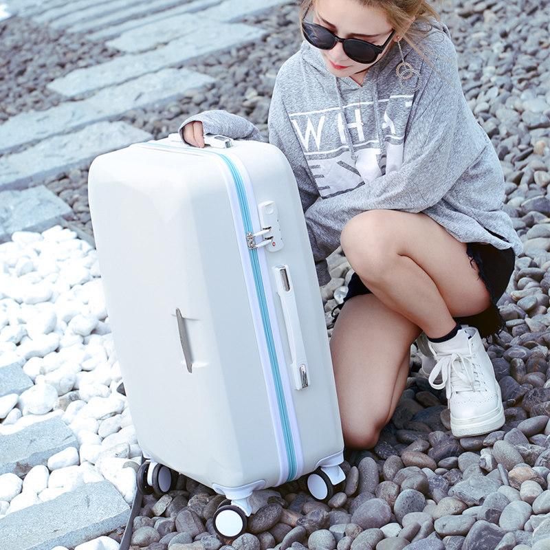 行李箱女小清新韩版大学生拉杆箱子母箱20旅行箱24寸万向轮密码箱   全国运费不一样,具体运费以客服说的为准,自行下单不发货,谢谢支持!