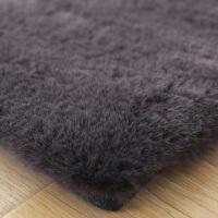 地毯客厅茶几垫北欧简约现代满铺房间床边毯仿兔毛加厚地毯卧室y