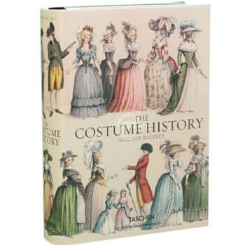 现货 英文原版 礼服大历史全集 Auguste Racinet The Costume History 奥古斯特 拉西 古服装大历史 Taschen 塔森 精装收藏 现货!