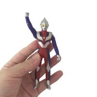 奥特曼闪光玩偶 奥特曼玩具套装 可动迪加迪迦奥特曼变身器闪光玩偶人偶模型