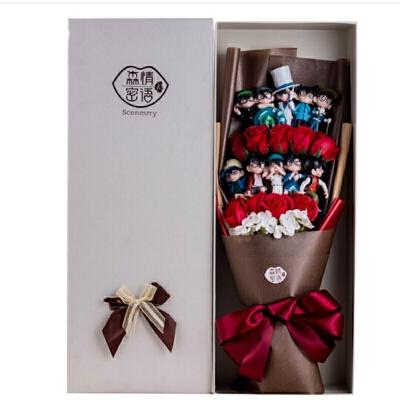 名侦探柯南工藤新一公仔玩偶全套周边礼盒创意生日情人节礼物  因年底放假,1月26日-2月11日订单将于2月12日开始陆续发出,介意慎拍。住各