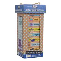 [现货]英文原装Book towers - Ocean books 儿童图书 书塔 海洋 早教