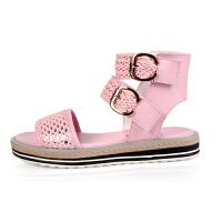 女童凉鞋夏季底儿童软公主鞋女童鞋时尚平底鞋