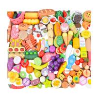 木制磁性切水果玩具水果蔬菜切切看切切乐儿童过家家玩具
