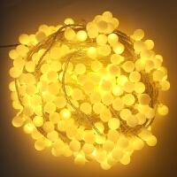 LED小彩灯闪灯串灯满天星圆球灯雪花灯新年春节过年红灯笼星星灯