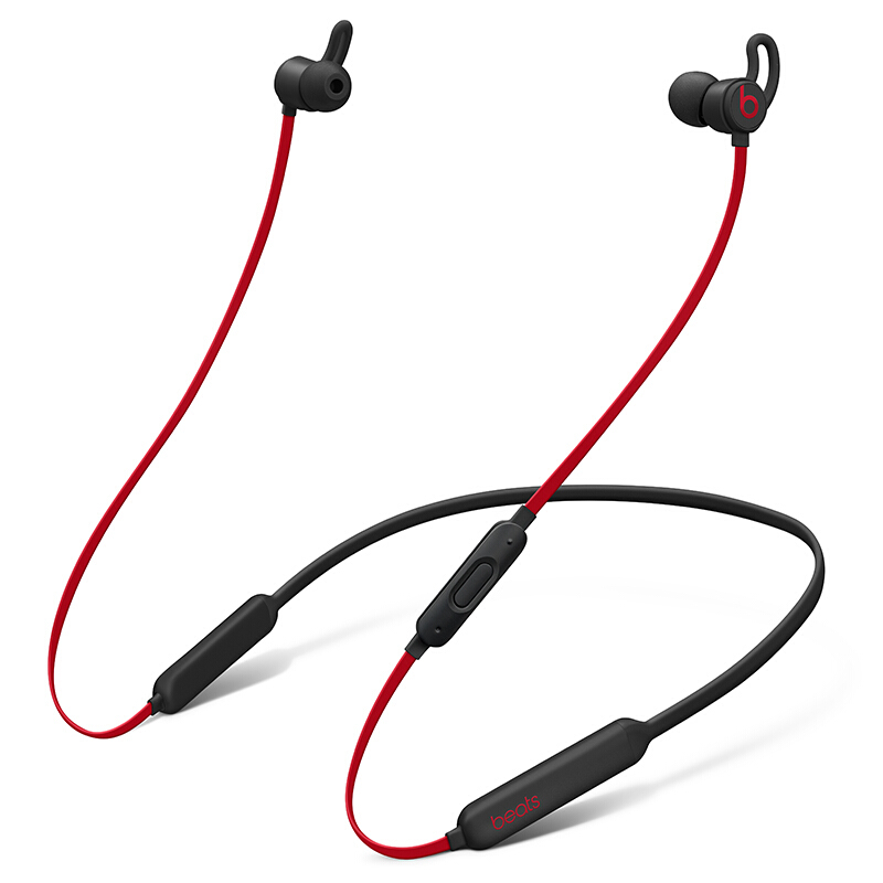 【当当自营】Beats X 蓝牙无线 入耳式耳机 带麦可通话 -桀骜黑红(十周年版) MRQA2PA/A BeatsX桀骜黑红十周年重磅回归!