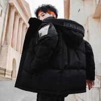 【秋冬新品】高端品牌男士棉衣冬季外套2019新款韩版潮流冬天工装帅气冬装棉袄