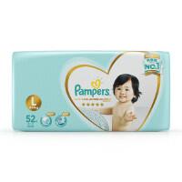 [当当自营]帮宝适 日本进口一级纸尿裤 大码L52片(9-14kg) 大包装