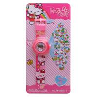 奥特曼玩具儿童玩具手表投影手表凯蒂猫男女卡通电子变形金刚手表