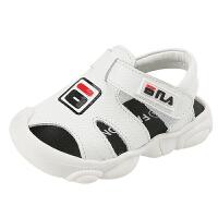 宝宝真皮凉鞋男0-1-3岁小童软底婴儿学步鞋子2包头防踢幼儿儿童鞋