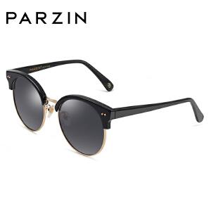 帕森板材偏光镜女 时尚大框太阳镜修脸复古潮墨镜驾驶镜9633